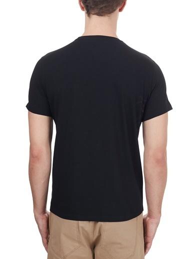 Etro  % 100 Pamuklu Baskılı Bisiklet Yaka T Shirt Erkek T Shırt 1Y020 97580 001 Siyah